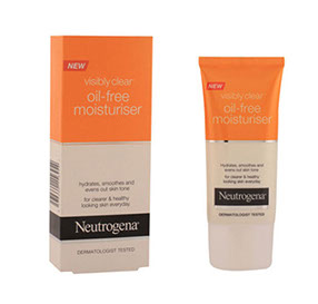 "Neutrogena visibly clear קרם לחות נטול שומן 50 מ""ל"