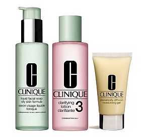 Clinique 3 steps oily skin