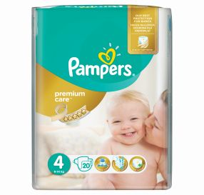 24 יח' Pampers Premium Care 4