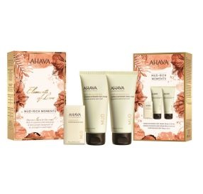 AHAVA Elements Of Love Mud Rich Moments מארז חגיגי לגוף