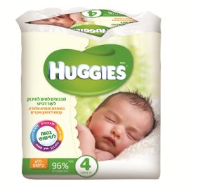 Huggies Natural Care מגבונים לחים