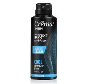 Crema Men Body Cool Deodorant Spray