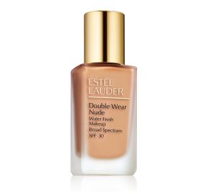 Estee Lauder Double Wear Nude Makeup SPF 30 מייק אפ למראה רענן בגוון Wheat 3N2
