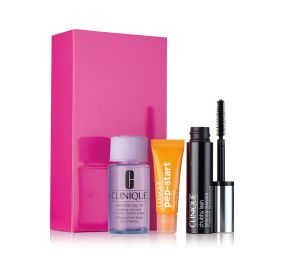 Clinique Bright All Night  מארז 3 מוצרי איפור וטיפוח