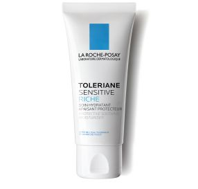 "Toleriane Sensitive Rich קרם לחות מגן ומרגיע לעור רגיש ויבש 40 מ""ל"