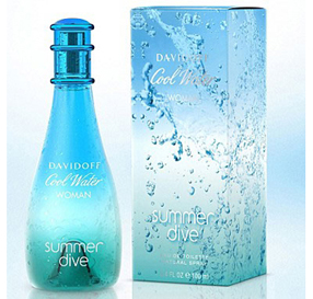 Davidoff Cool Water EDT Natural Spray לאישה/ 100 מ