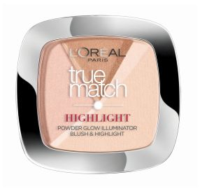 L'Oreal True Match לוריאל היילייטר פודרת הארה טרו מאצ' 102 golden glow