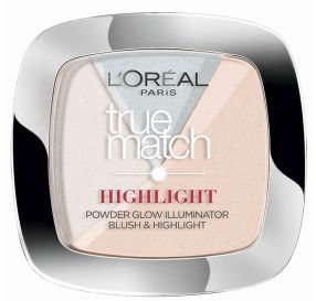 L'Oreal True Match לוריאל היילייטר פודרה טרו מאצ' 302 icy glow
