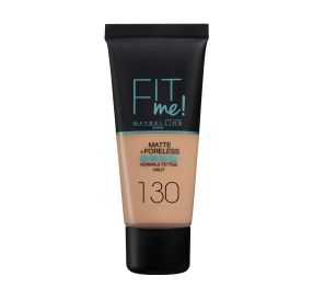 Fit Me Matte And Poreless מייק אפ נוזלי בגימור מאט גוון 130