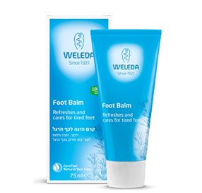 "Weleda Foot Balm קרם הזנה לכף הרגל 75 מ""ל"