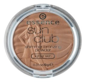 אסנס Sun Club shimmer bronzing powder גוון 30