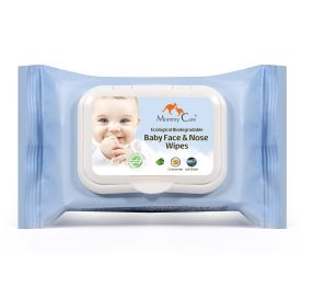 baby face and nose wipes מאמי קר