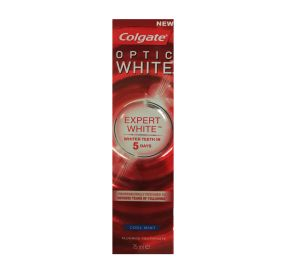 "משחת שיניים להלבנה 75 מ""ל Colgate Optic White Expert White"