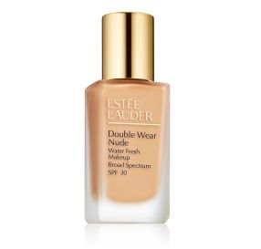 Estee Lauder Double Wear Nude Makeup SPF 30 מייק אפ למראה רענן בגוון Sand 1W2