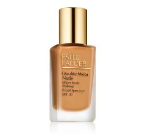 Estee Lauder Double Wear Nude Makeup SPF 30 מייק אפ למראה רענן בגוון Bronze 5W1