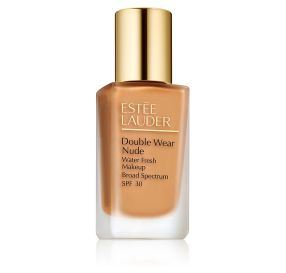 Estee Lauder Double Wear Nude Makeup SPF 30 מייק אפ למראה רענן בגוון Honey bronze 4W1