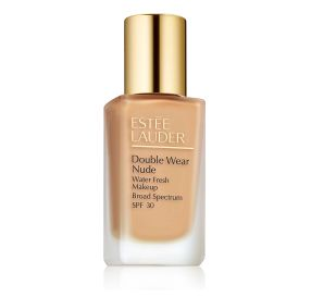 Estee Lauder Double Wear Nude Makeup SPF 30 מייק אפ למראה רענן בגוון Buff 2N2
