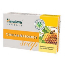 Himalaya Cream and Honey Soap