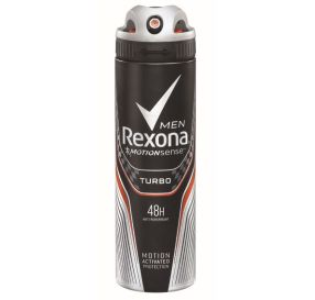 Rexona Men Turbo דאודורנט ספריי לגבר 150 מ''ל